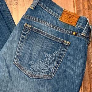 Lucky Brand Sweet N Crop Capris, Size 10